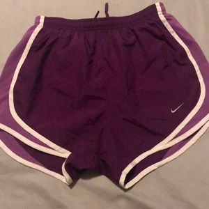 Women Nike dri-fit running shorts